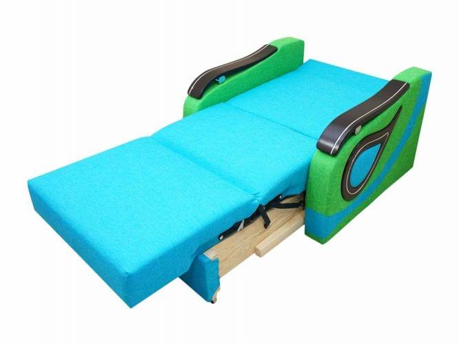 Fotel jako łózko