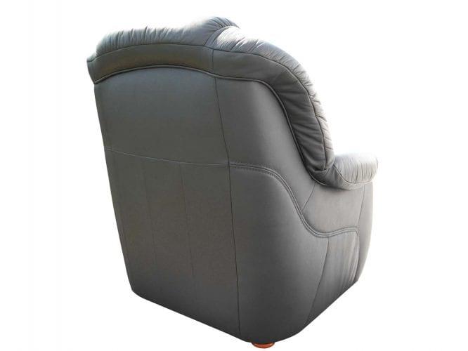 Fotel skórzany tył