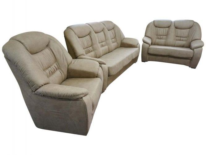 Wypoczynek sofa fotel i dwuosobowa sofa