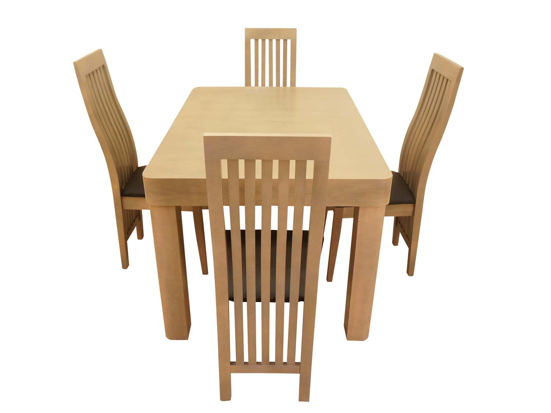 Jak dobrać krzesła do stołu? Poradnik meblowy