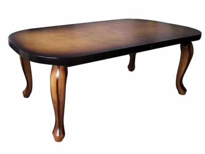Stół z litego drewna bukowego