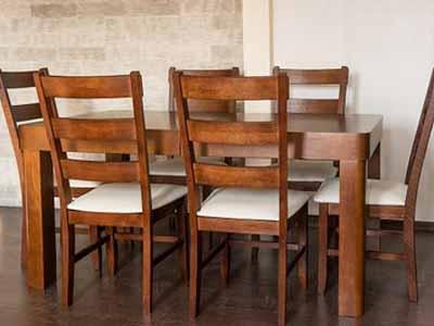 Stół Adam Rozkładany 6 Krzeseł Jola