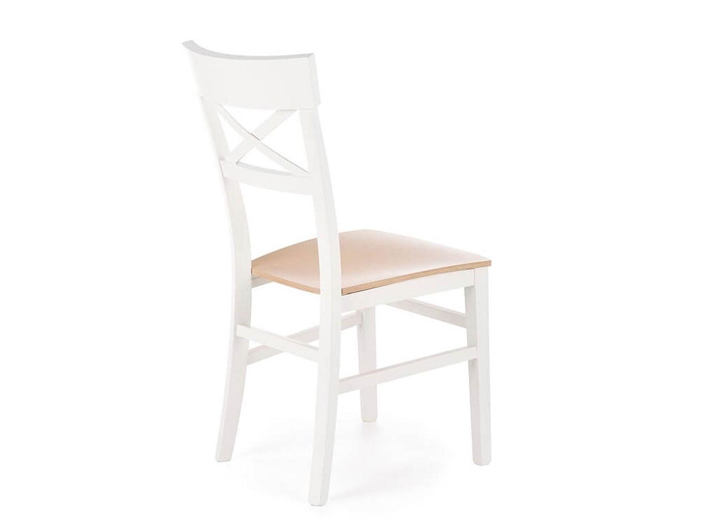 Białe Krzesło OLIVIER z Drewna Bukowego IGA Meble